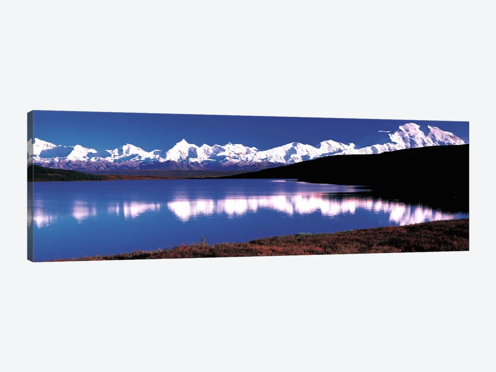Mt. McKinley & Wonder Lake Denali National Park AK USA by Panoramic Images 1-piece Canvas Print