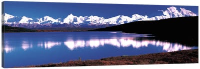 Mt. McKinley & Wonder Lake Denali National Park AK USA Canvas Art Print