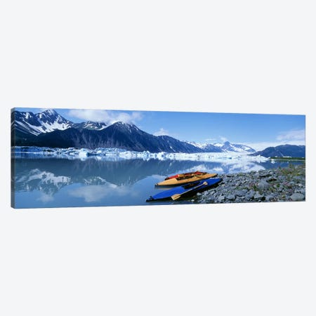 Riverside Kayaks, Alaska, USA Canvas Print #PIM3197} by Panoramic Images Art Print