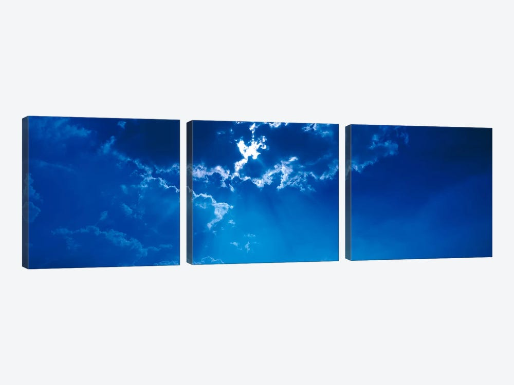 Clouds over Dava Moor Nairn Scotland by Panoramic Images 3-piece Canvas Wall Art