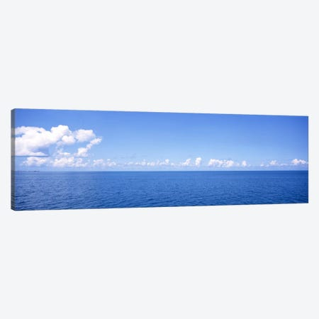 Cloudy Seascape, Atlantic Ocean, Bermuda Canvas Print #PIM31} by Panoramic Images Canvas Print