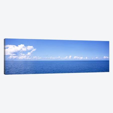 Cloudy Seascape, Atlantic Ocean, Bermuda Canvas Print #PIM31} by Panoramic Images Canvas Print