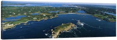 Coastal Landscape, Narraganset Bay, Rhode Island, USA Canvas Art Print