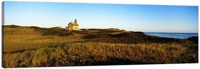 Block Island Lighthouse Rhode Island USA Canvas Print #PIM3201