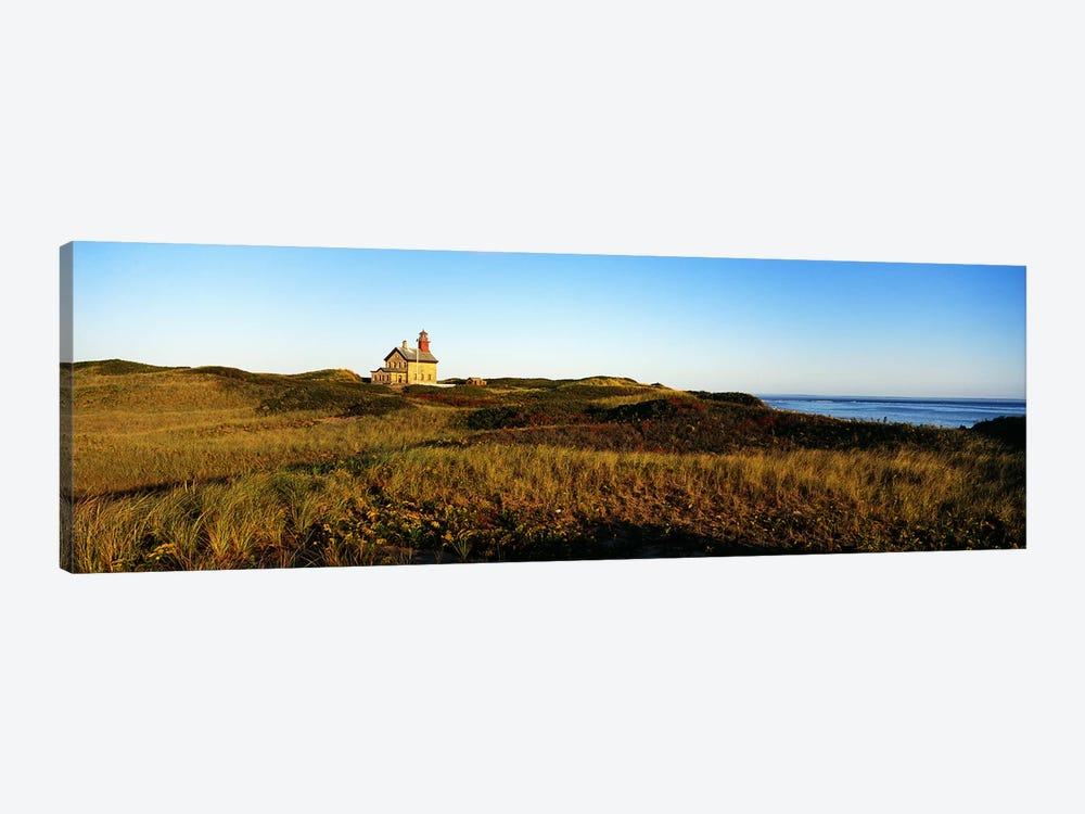 Block Island Lighthouse Rhode Island USA by Panoramic Images 1-piece Canvas Wall Art