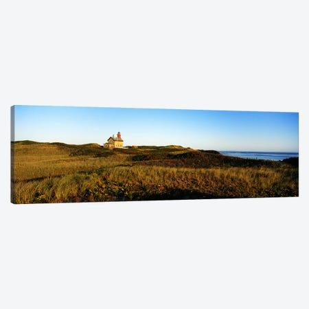 Block Island Lighthouse Rhode Island USA Canvas Print #PIM3201} by Panoramic Images Canvas Art