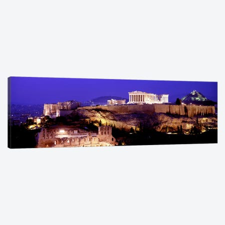 Acropolis, Athens, Greece Canvas Print #PIM3211} by Panoramic Images Canvas Print