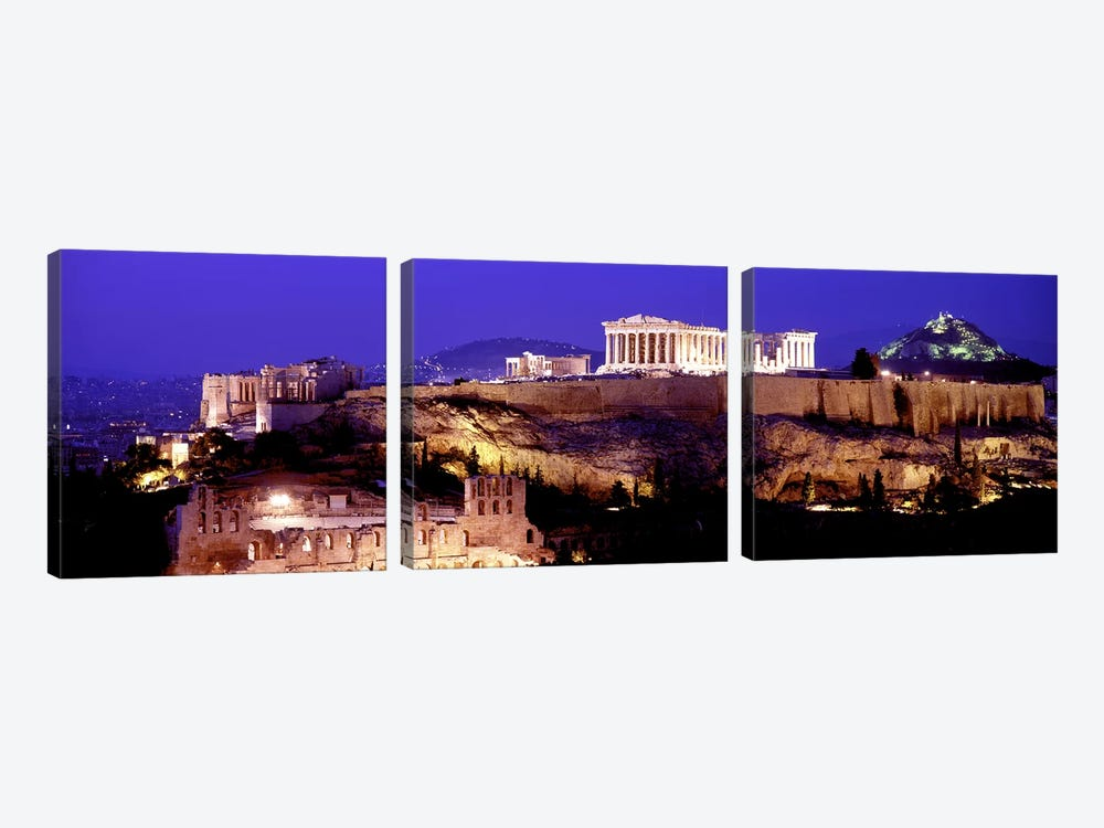 Acropolis, Athens, Greece by Panoramic Images 3-piece Art Print
