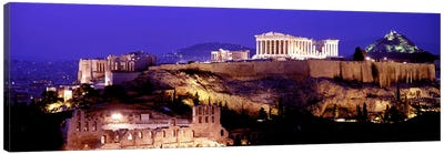 Acropolis, Athens, Greece Canvas Art Print