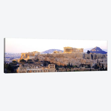 Acropolis Of Athens, Athens, Attica Region, Greece Canvas Print #PIM3213} by Panoramic Images Canvas Art Print