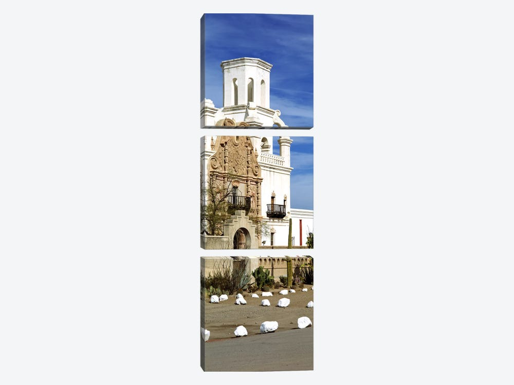 San Xavier del Bac Tucson AZ by Panoramic Images 3-piece Canvas Art