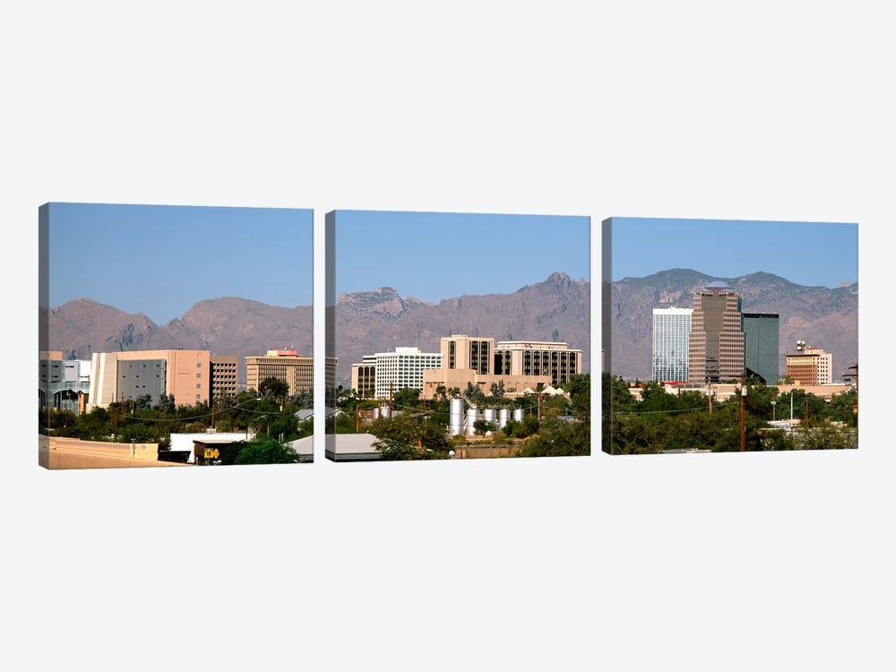 Tucson AZ by Panoramic Images 3-piece Canvas Print