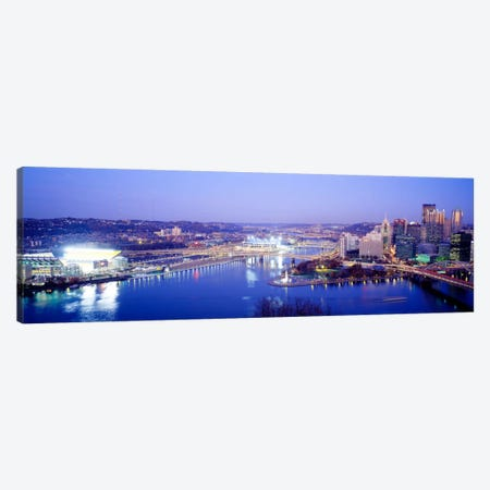 PittsburghPennsylvania, USA Canvas Print #PIM3221} by Panoramic Images Canvas Art