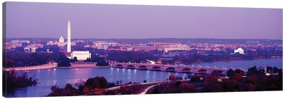 Washington DC Canvas Art Print