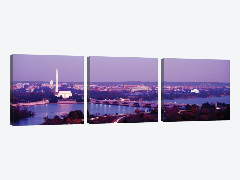 Washington DC by Panoramic Images 3-piece Canvas Print