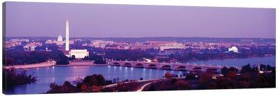 Washington DC Canvas Art Print