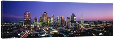 NightDallas, Texas, USA Canvas Print #PIM3223