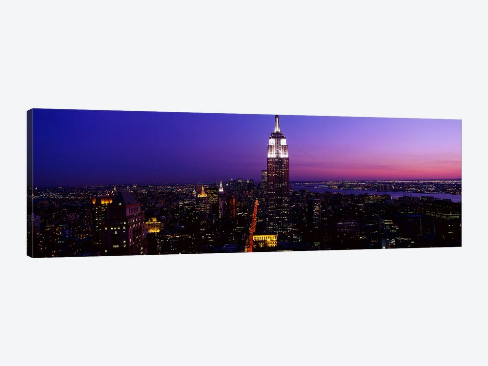 New York NY by Panoramic Images 1-piece Canvas Wall Art