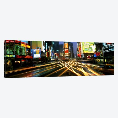 Times Square New York NY Canvas Print #PIM3226} by Panoramic Images Art Print