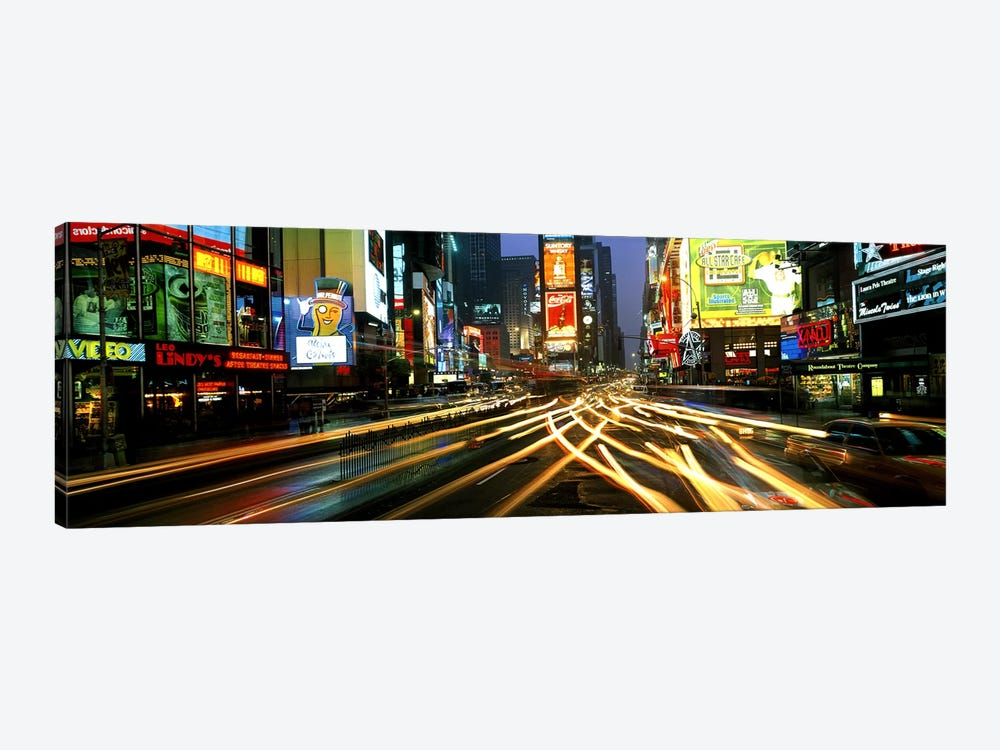 Times Square New York NY by Panoramic Images 1-piece Canvas Art Print