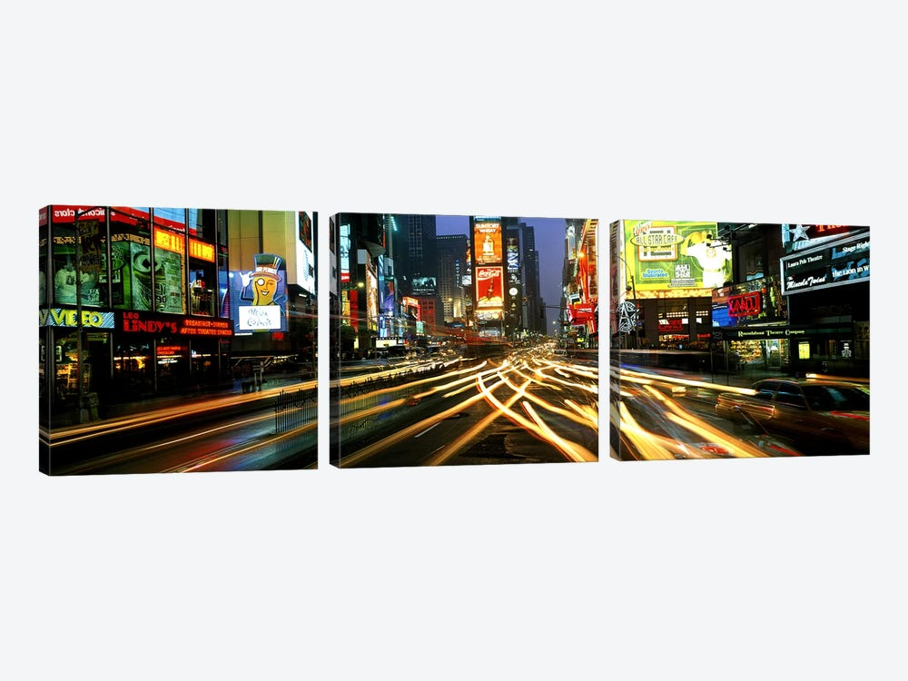 Times Square New York NY by Panoramic Images 3-piece Art Print