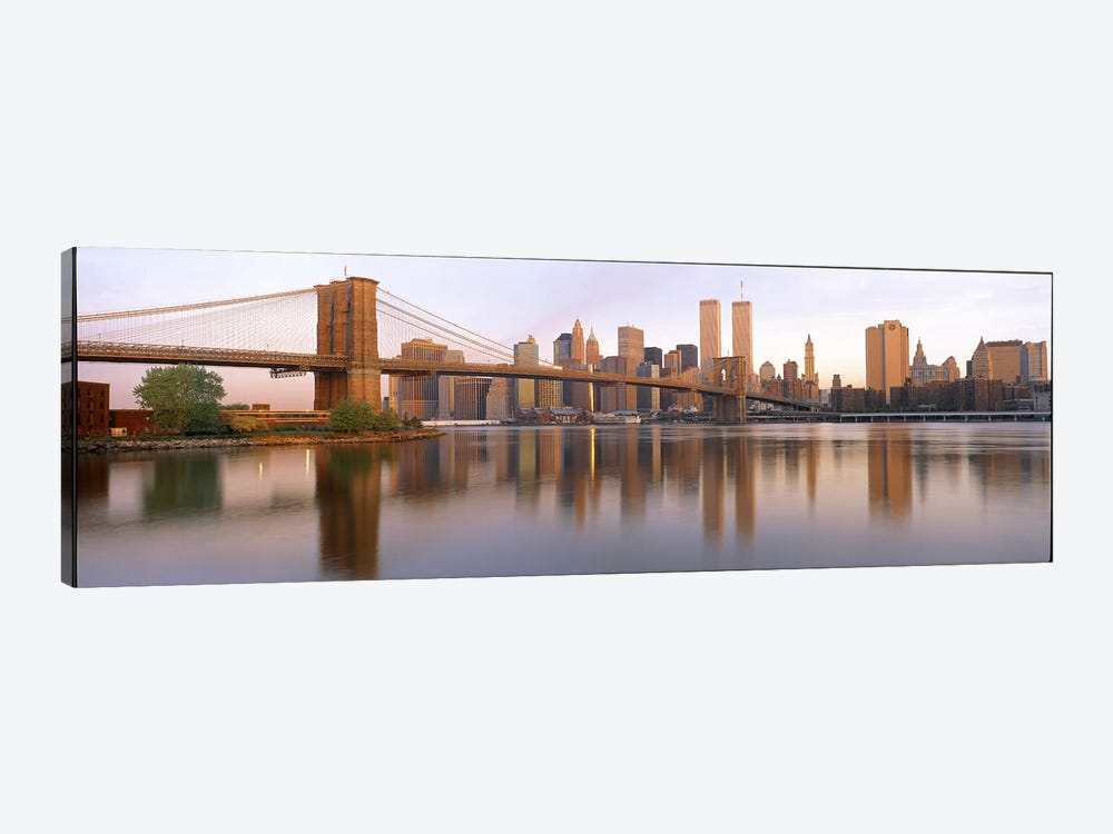 Brooklyn Bridge Manhattan New York City NY by Panoramic Images 1-piece Canvas Art