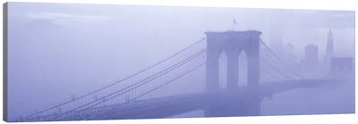 Brooklyn Bridge New York NY Canvas Art Print