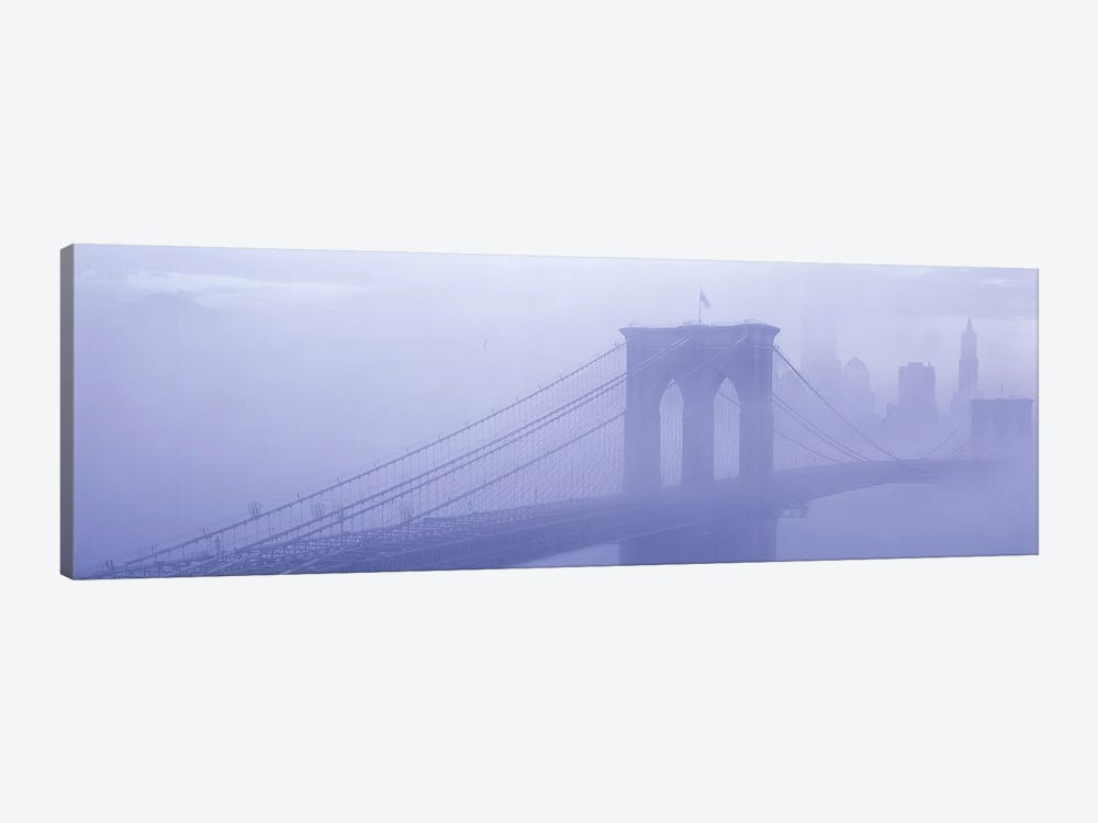 Brooklyn Bridge New York NY by Panoramic Images 1-piece Art Print