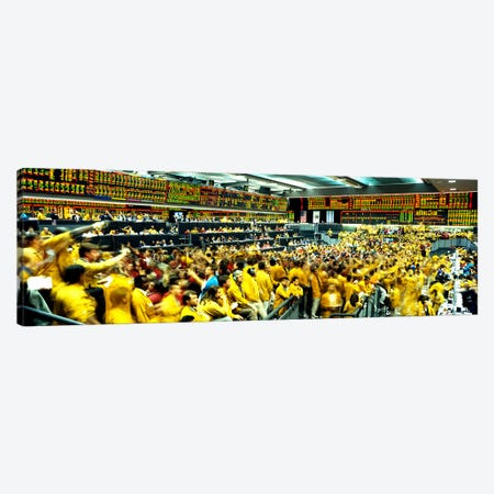 Futures and Options Traders Chicago Mercantile Exchange Chicago IL Canvas Print #PIM3229} by Panoramic Images Canvas Artwork