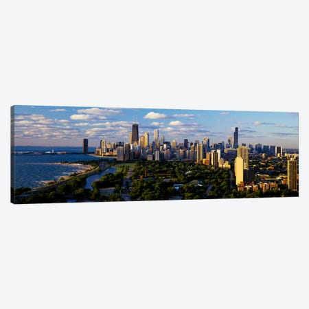 Chicago IL Canvas Print #PIM3230} by Panoramic Images Canvas Print