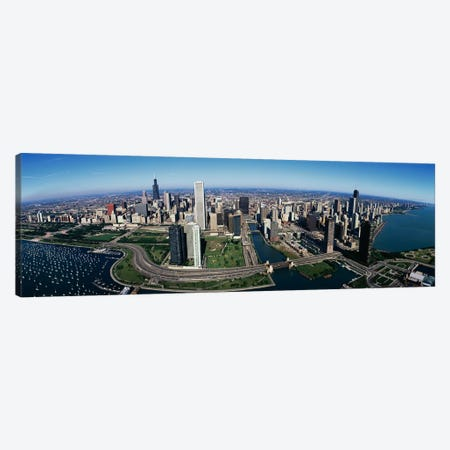 Chicago IL Canvas Print #PIM3232} by Panoramic Images Canvas Print