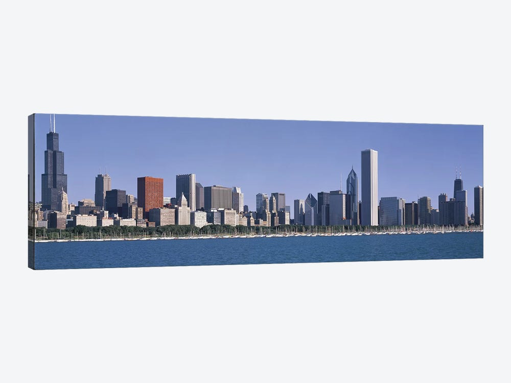 Chicago IL by Panoramic Images 1-piece Canvas Artwork