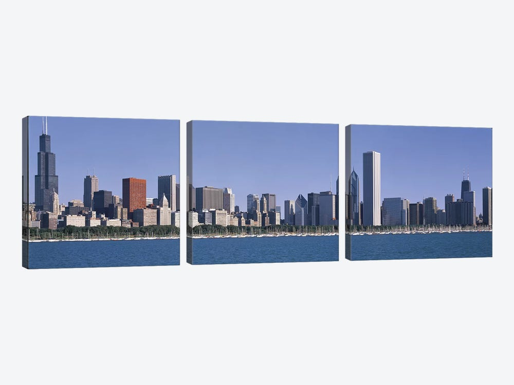 Chicago IL by Panoramic Images 3-piece Canvas Art