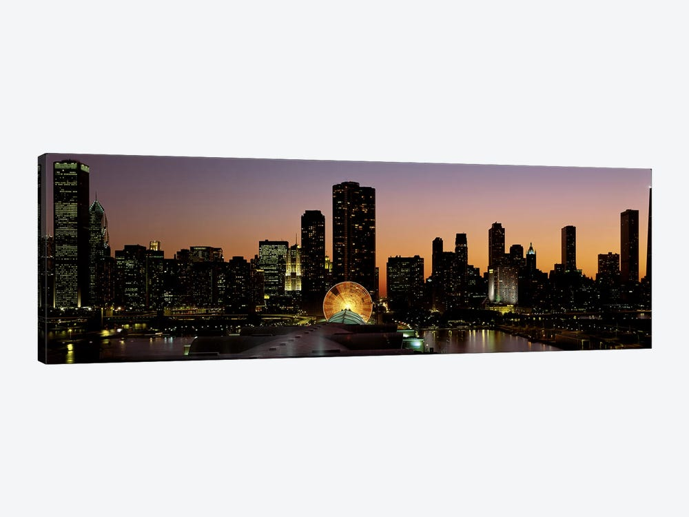 ChicagoIllinois, USA by Panoramic Images 1-piece Canvas Art Print