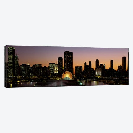 ChicagoIllinois, USA Canvas Print #PIM3235} by Panoramic Images Canvas Artwork
