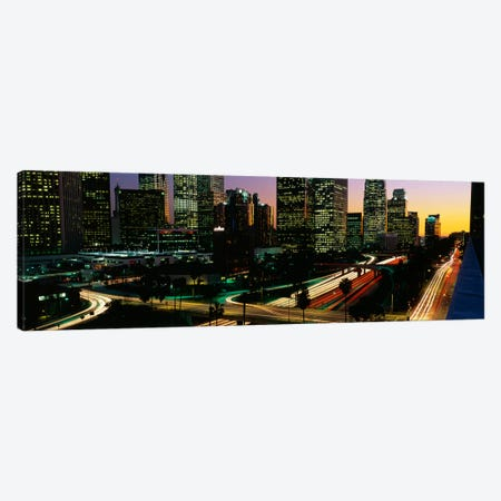 Harbor Freeway Los Angeles CA Canvas Print #PIM3238} by Panoramic Images Canvas Print
