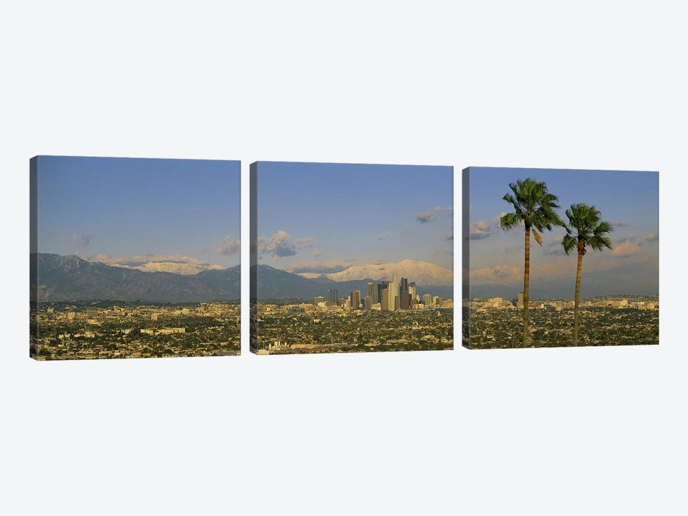 Los Angeles CA by Panoramic Images 3-piece Canvas Print