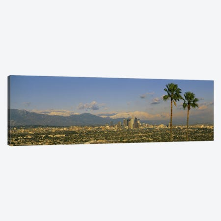 Los Angeles CA Canvas Print #PIM3239} by Panoramic Images Canvas Print