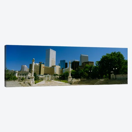 Buildings in a city, Denver, Colorado, USA #2 Canvas Print #PIM323} by Panoramic Images Art Print