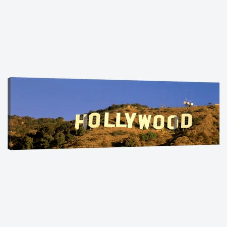 Hollywood Sign Los Angeles CA Canvas Print #PIM3240} by Panoramic Images Canvas Wall Art