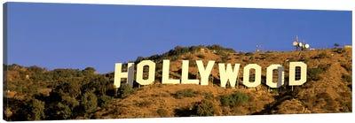 Hollywood Sign Los Angeles CA Canvas Print #PIM3240