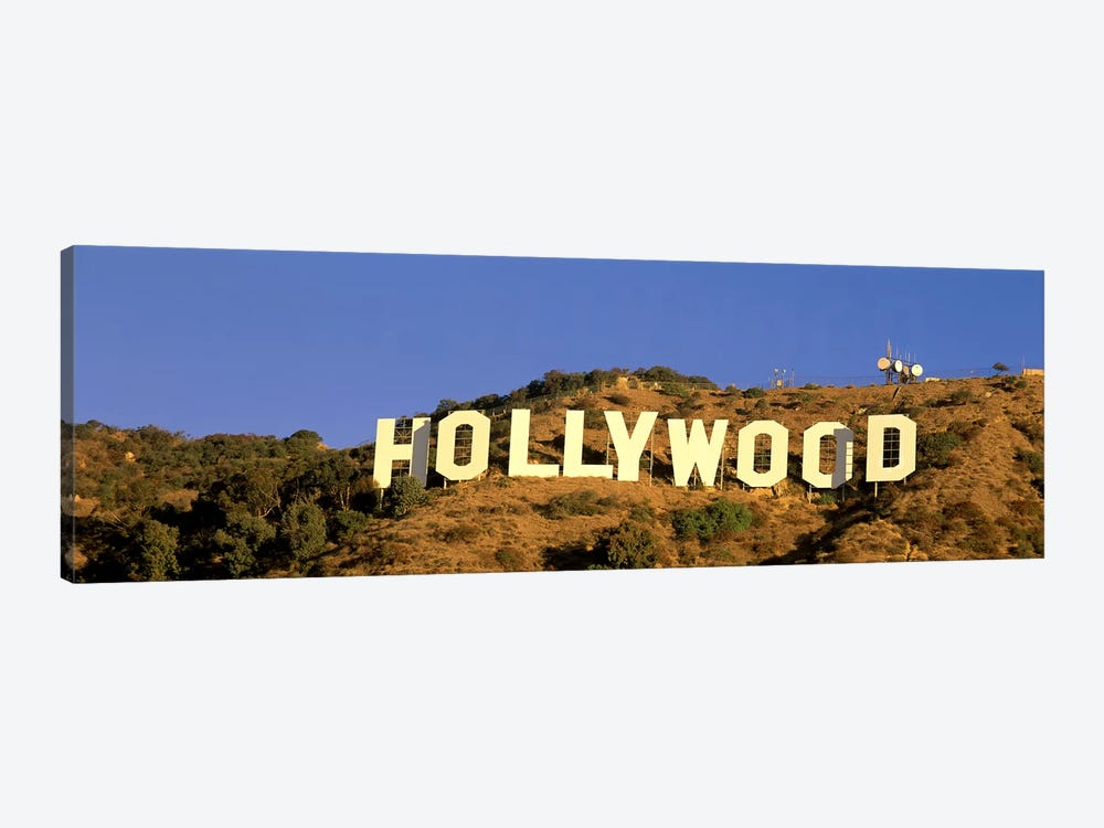 Hollywood Sign Los Angeles CA by Panoramic Images 1-piece Canvas Art Print