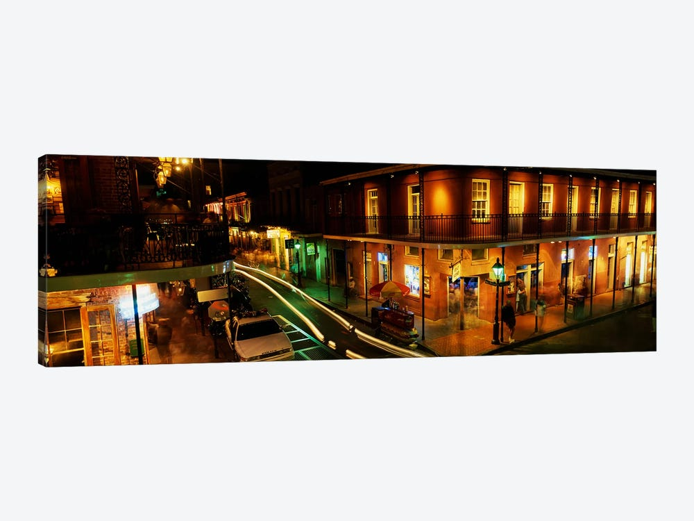 Bourbon Street New Orleans LA by Panoramic Images 1-piece Canvas Artwork