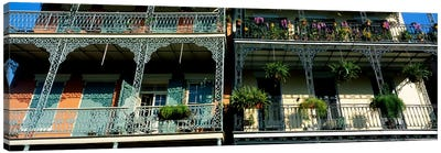 Bourbon Street New Orleans LA #2 Canvas Art Print