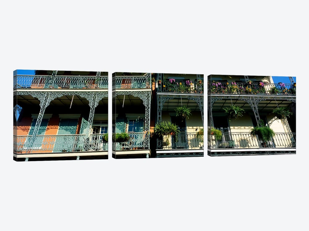 Bourbon Street New Orleans LA #2 by Panoramic Images 3-piece Art Print