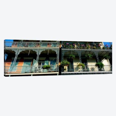 Bourbon Street New Orleans LA #2 Canvas Print #PIM3242} by Panoramic Images Canvas Artwork