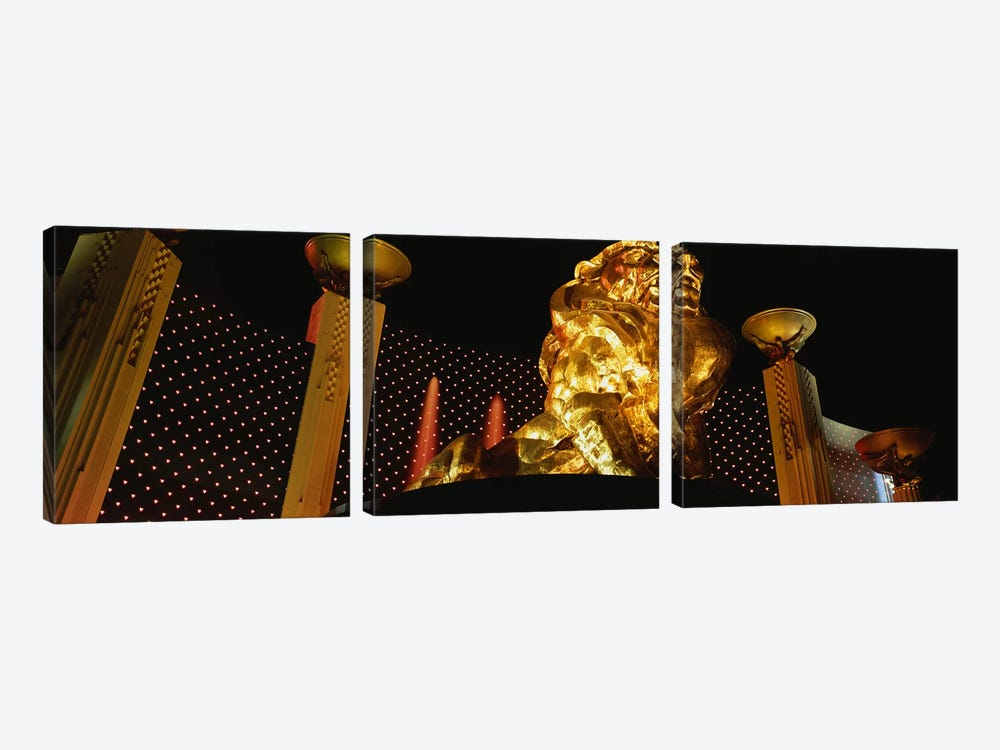 MGM Grand Las Vegas NV by Panoramic Images 3-piece Canvas Artwork