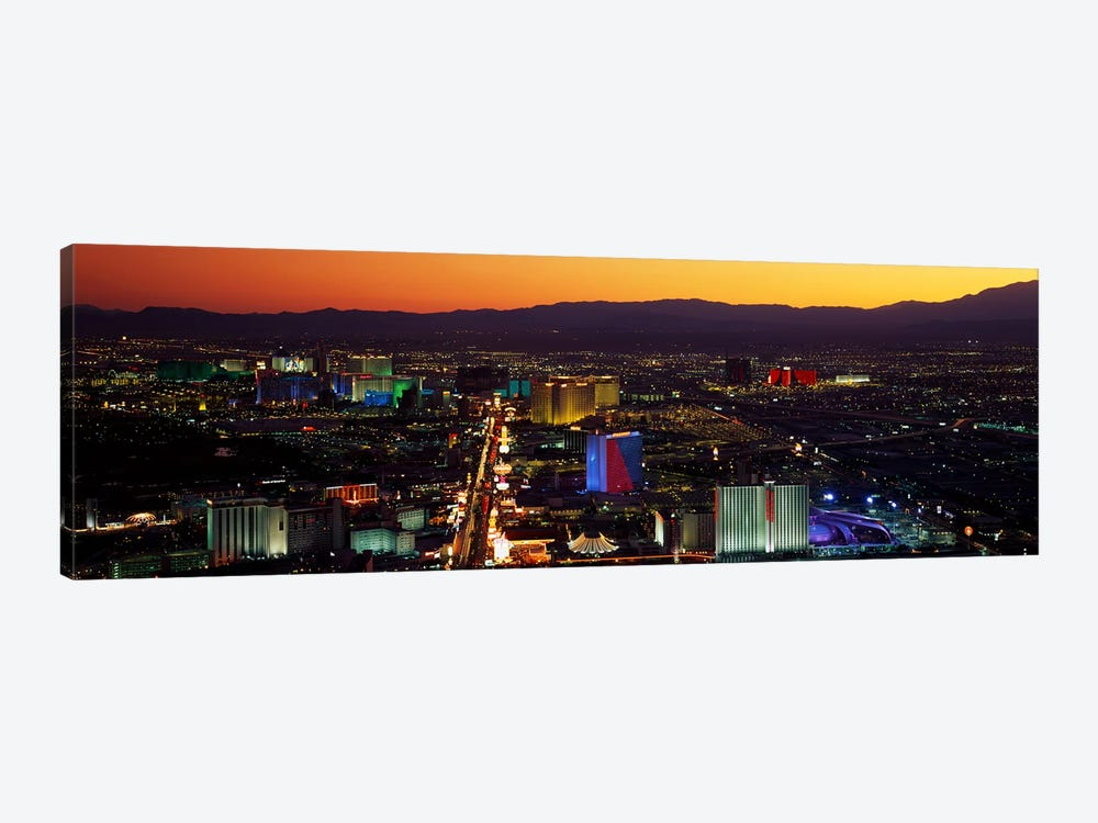 Hotels Las Vegas NV by Panoramic Images 1-piece Art Print