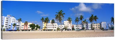 Miami Beach FL Canvas Art Print