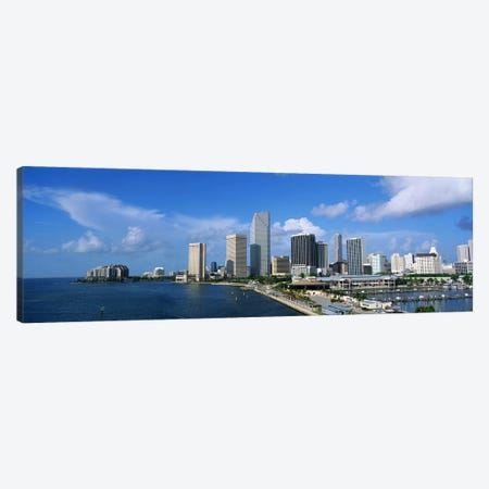 Miami FL #2 Canvas Print #PIM3248} by Panoramic Images Canvas Art